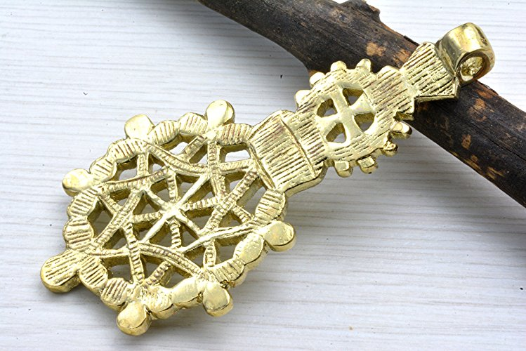 Traditional Ethiopian Coptic Cross Habesha Jewellry