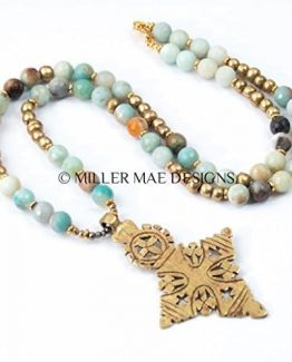 Ethiopian Coptic Cross Necklace