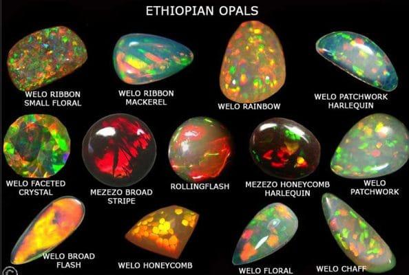 Welo Ethiopian Opals