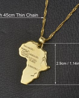 9 style goldsilver plated african map pendant and necklace for men choose aloadofball Choice Image